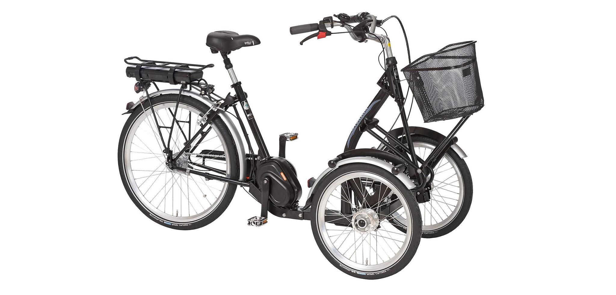 Pfiff Pfau-Tec Dreiräder und Elektro-Dreiräder für Erwachsene