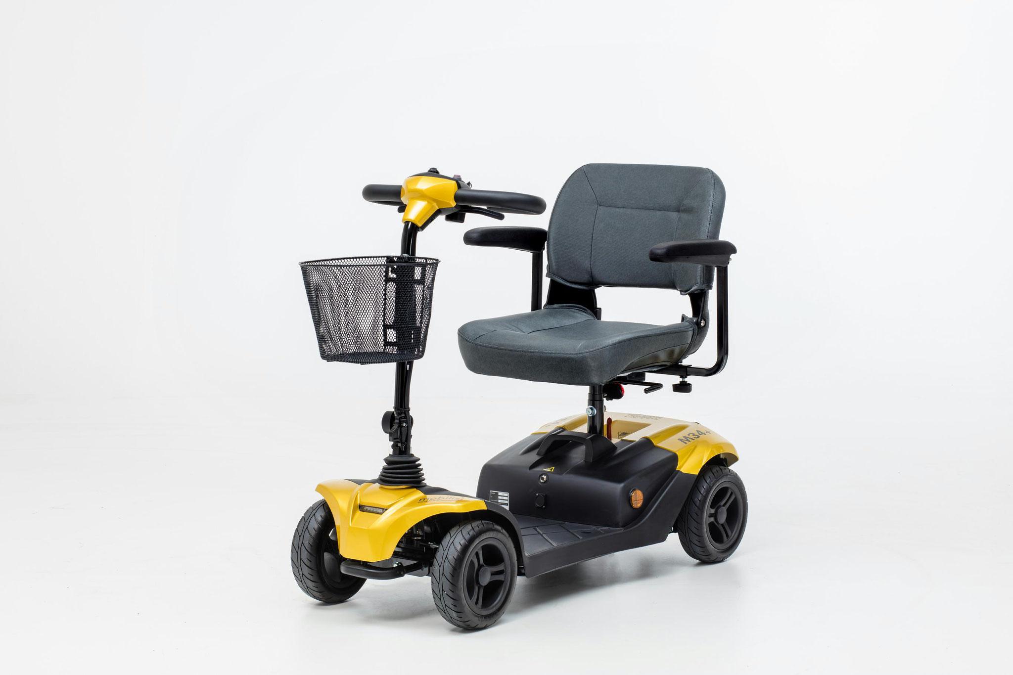 Mobilis Elektromobil für Senioren M34+ gelb