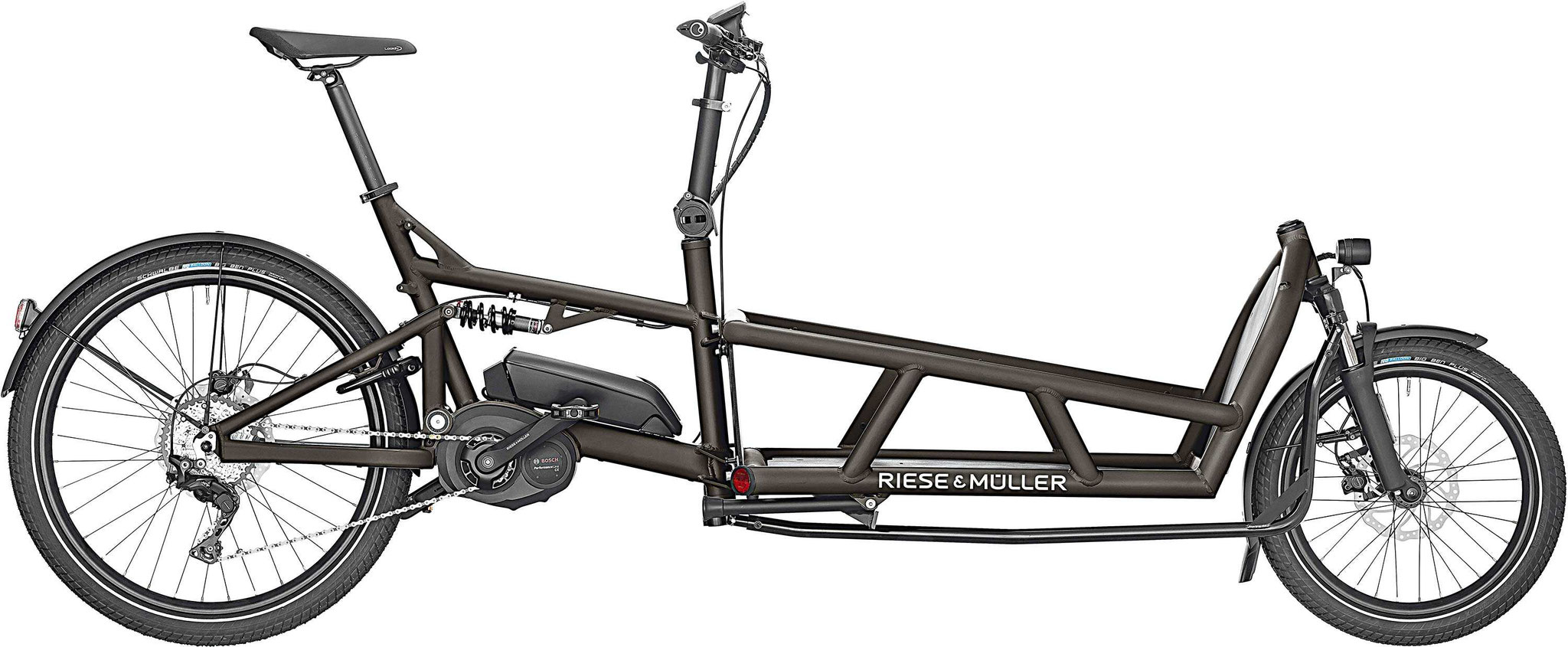 Riese & Müller Load 75 Touring 2019 graphite matt