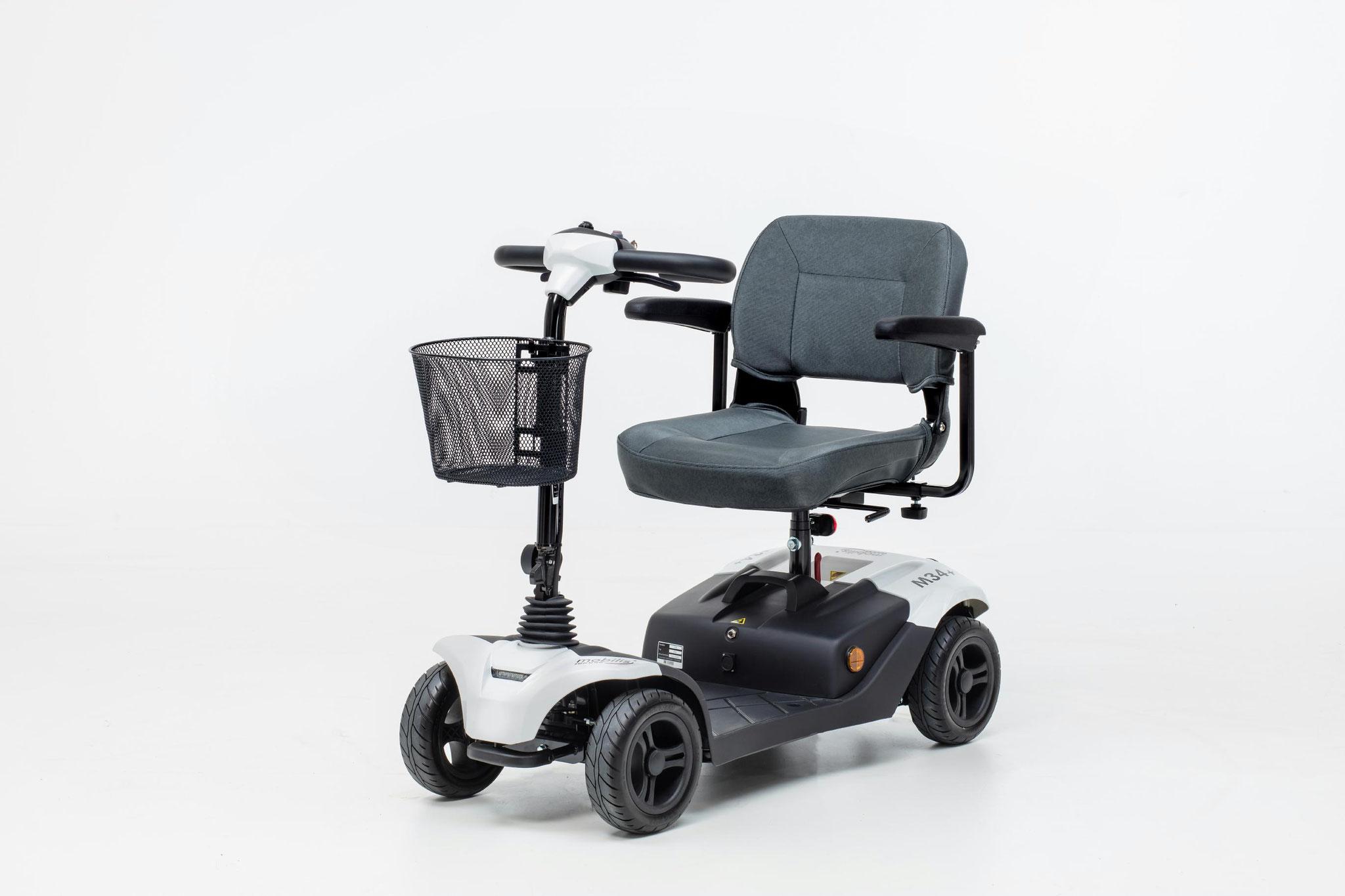 Mobilis Elektromobil für Senioren M34+ weiß