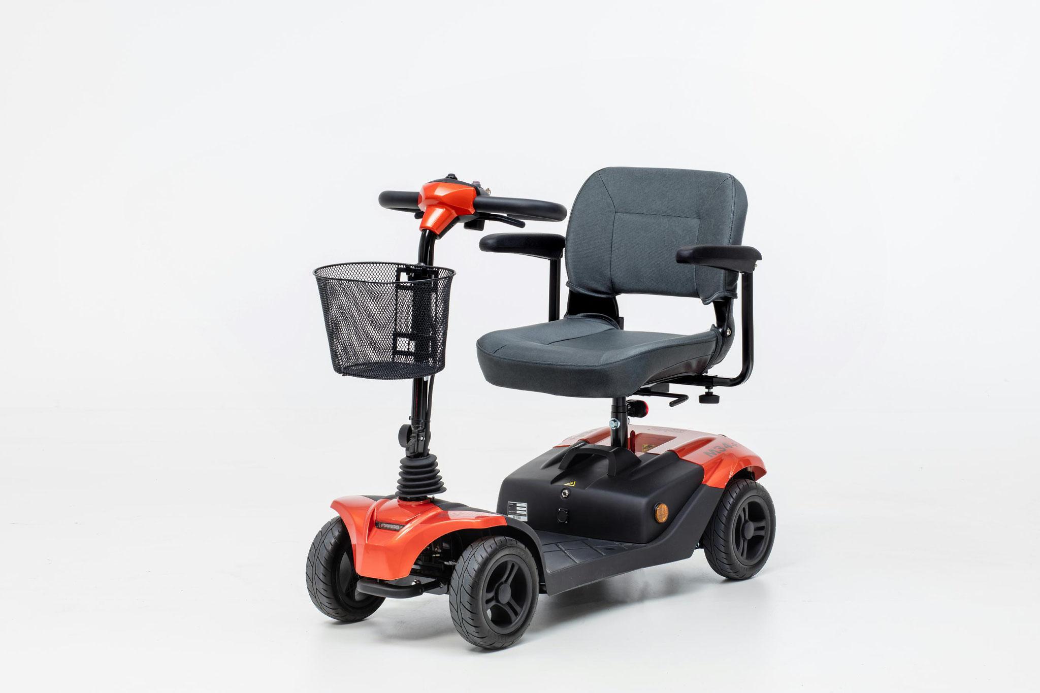 Mobilis Elektromobil für Senioren M34+ rot