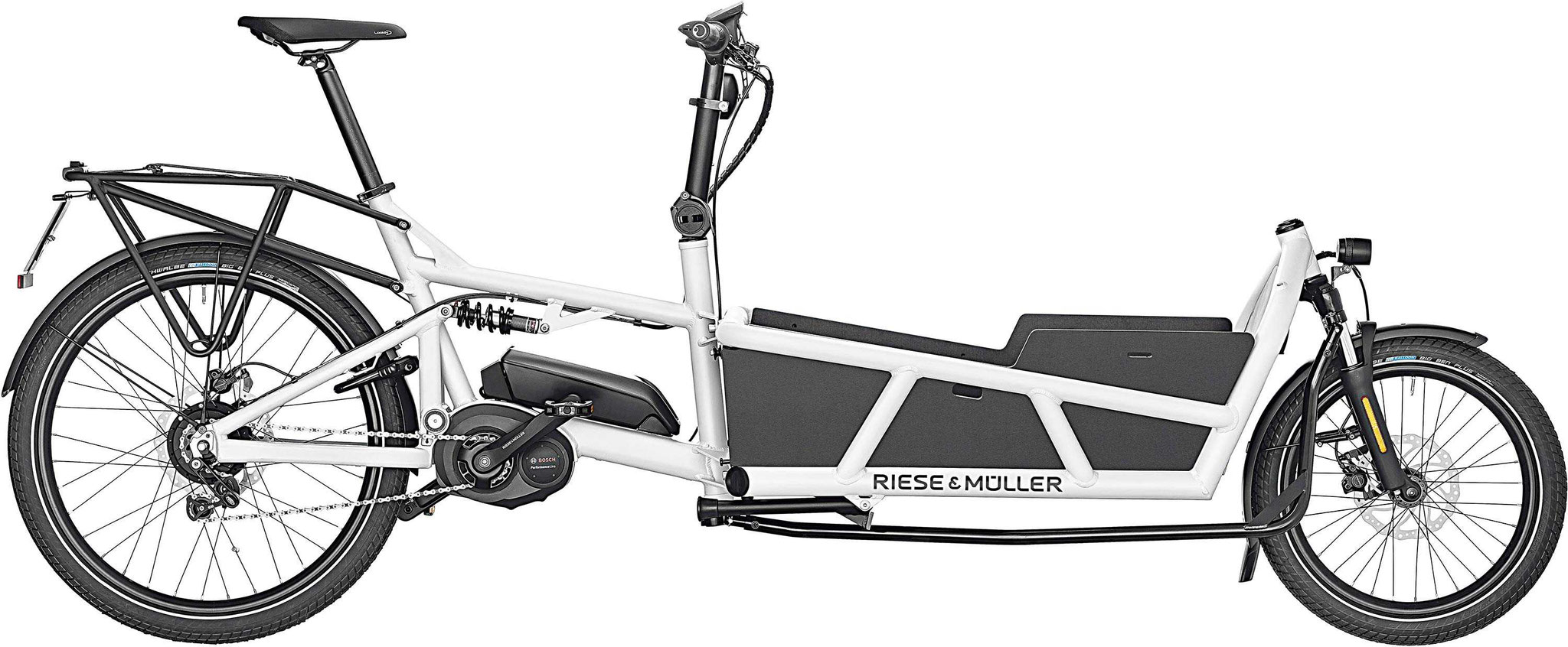 Riese & Müller Load 75 Touring HS 2019 white