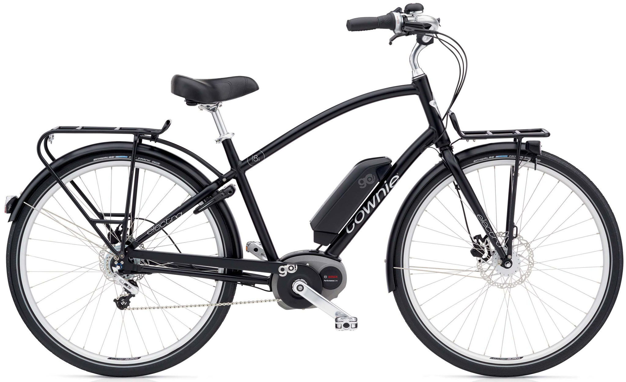Electra Towie Commute Go! 8i - Step-Over Schwarz