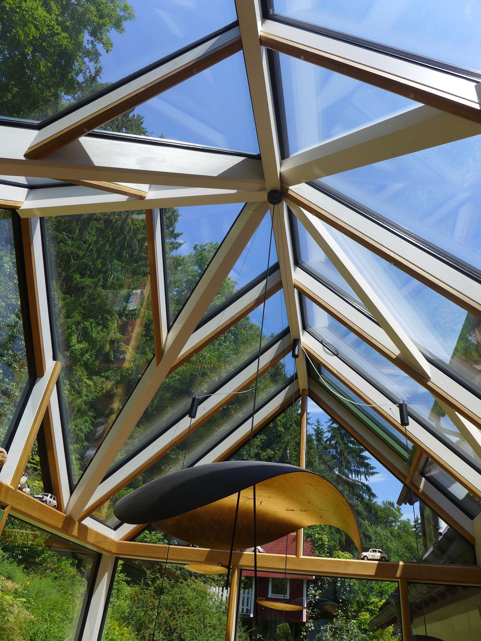 Dachverglasung eines Wintergartens im Bodenseekreis