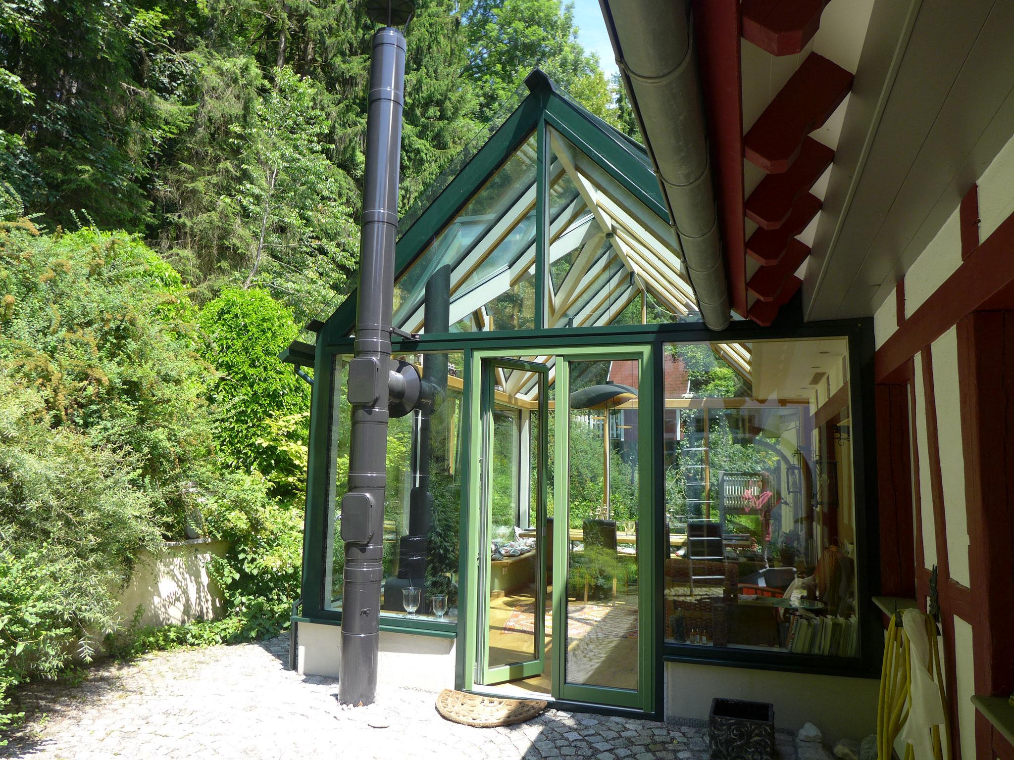 Wintergarten als Wohnraumerweiterung