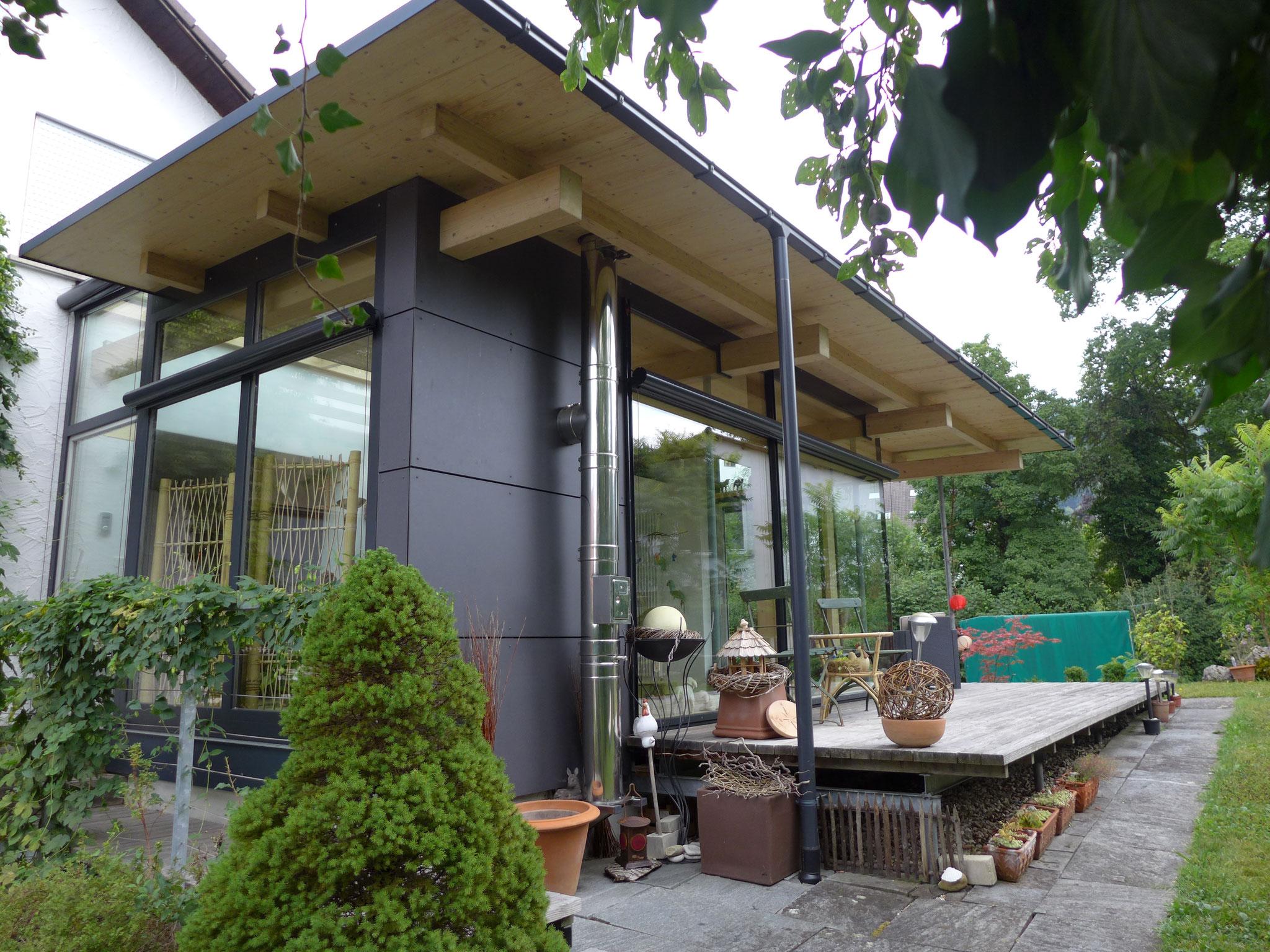 Außenansicht Wintergarten in Ravensburg