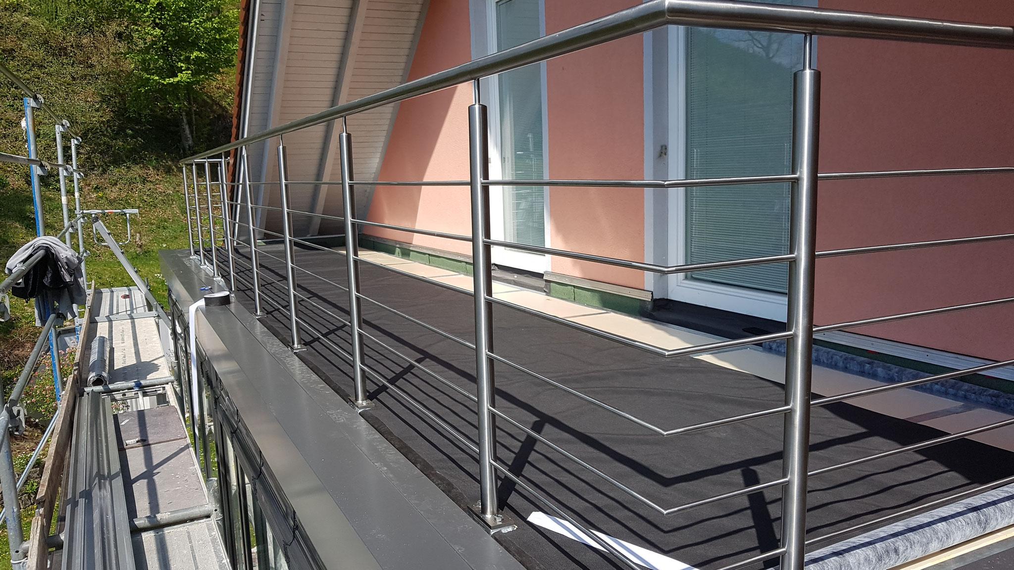 Terrasse integriert auf dem Wintergarten