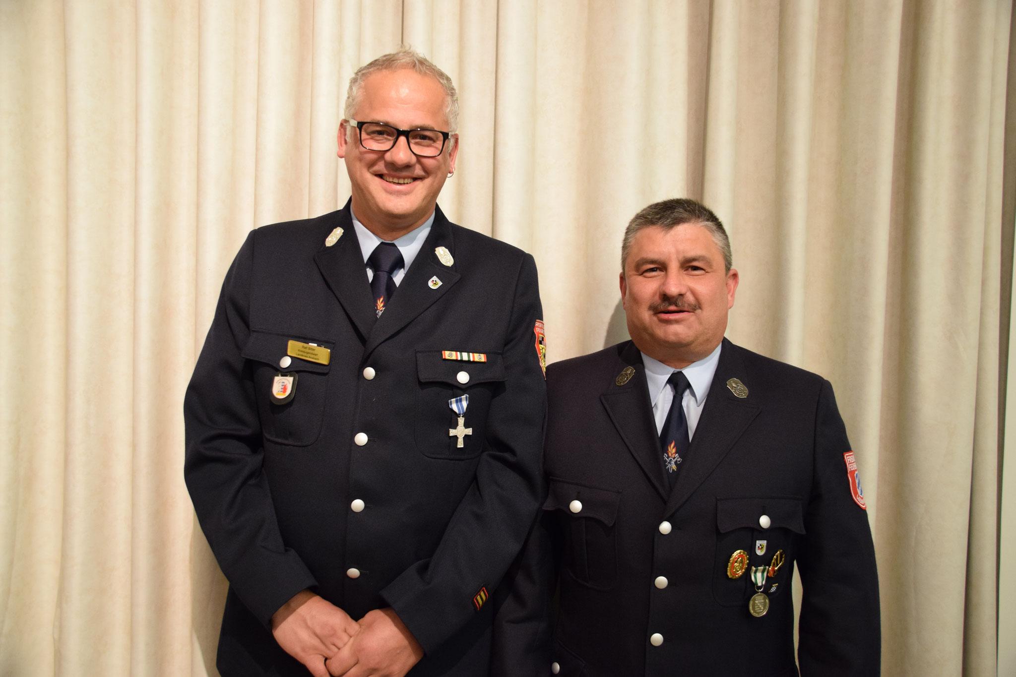 2017: Ralf Bitter und Thomas Wörner bei ihrer offiziellen Verabschiedung