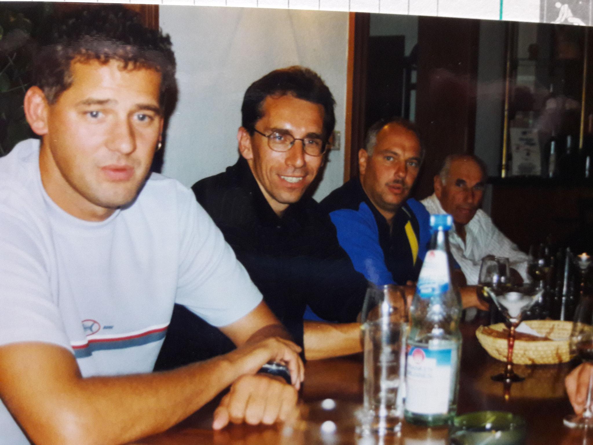 Der erste Ausflug der Wehr 2000 nach Frankfurt