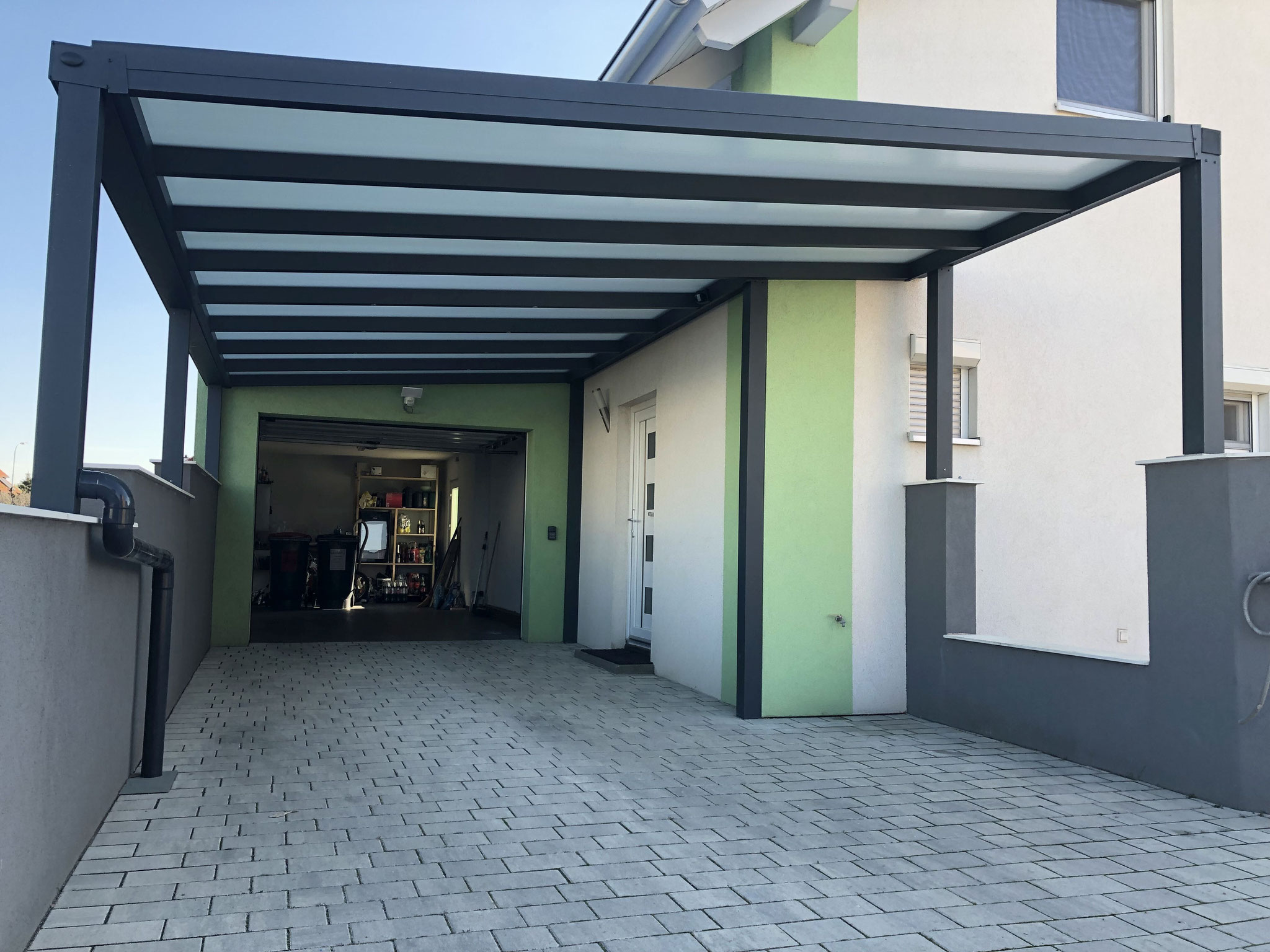 Carport HEATSTOP