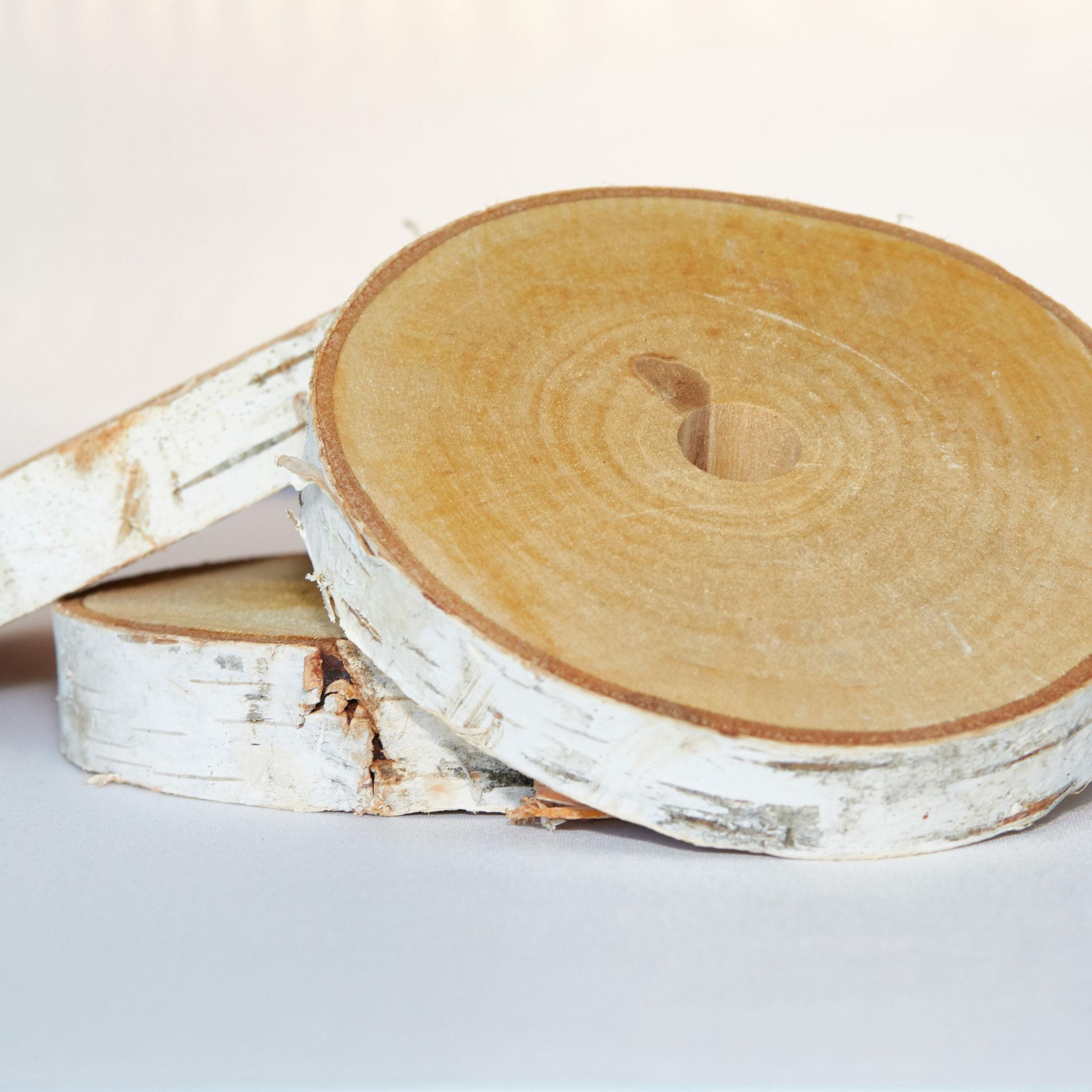 Birkenholzscheiben