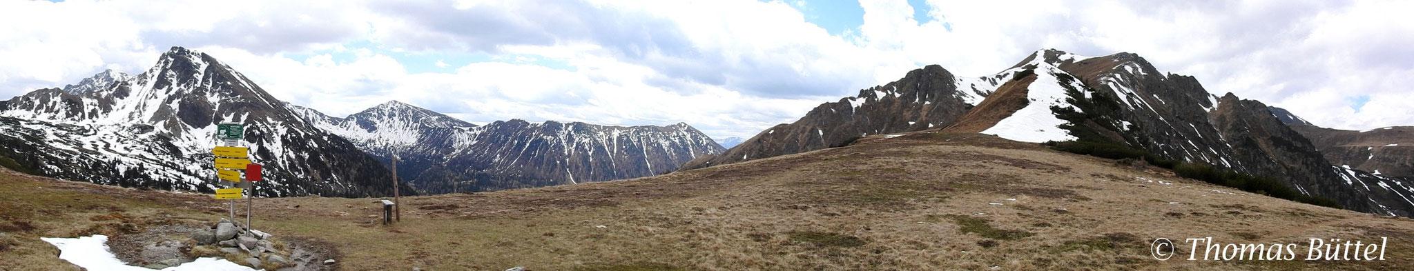 Triebener Törl panorama