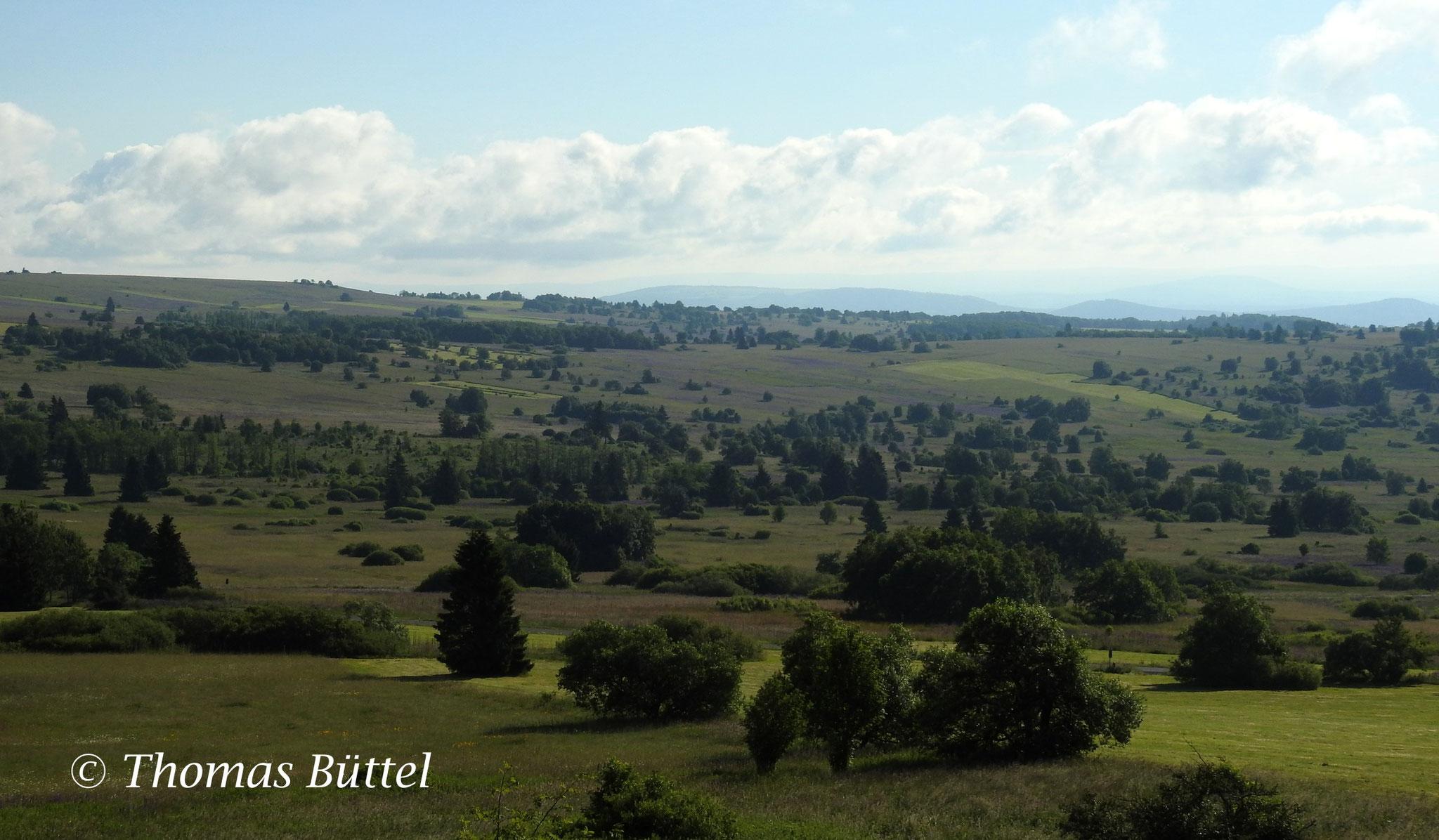 Ausblick über das Plateau