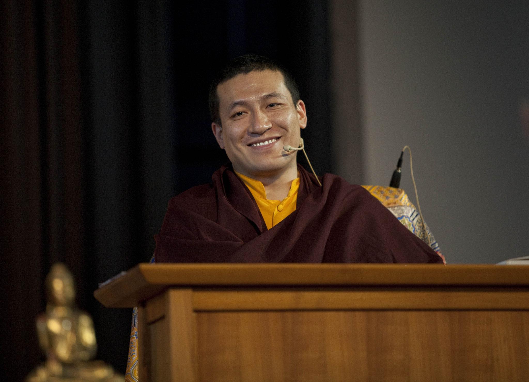Thaye Dorje,  der 17. Gyalwa Karmapa