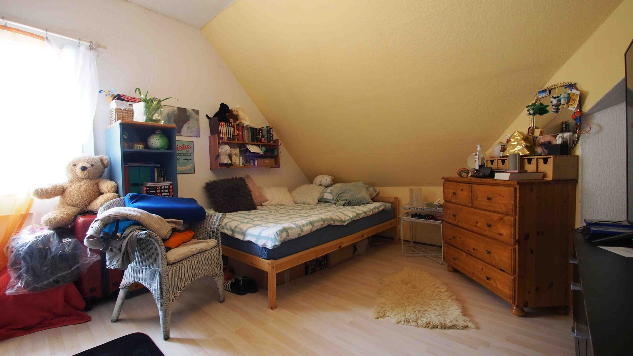Dachwohnung Schlafzimmer