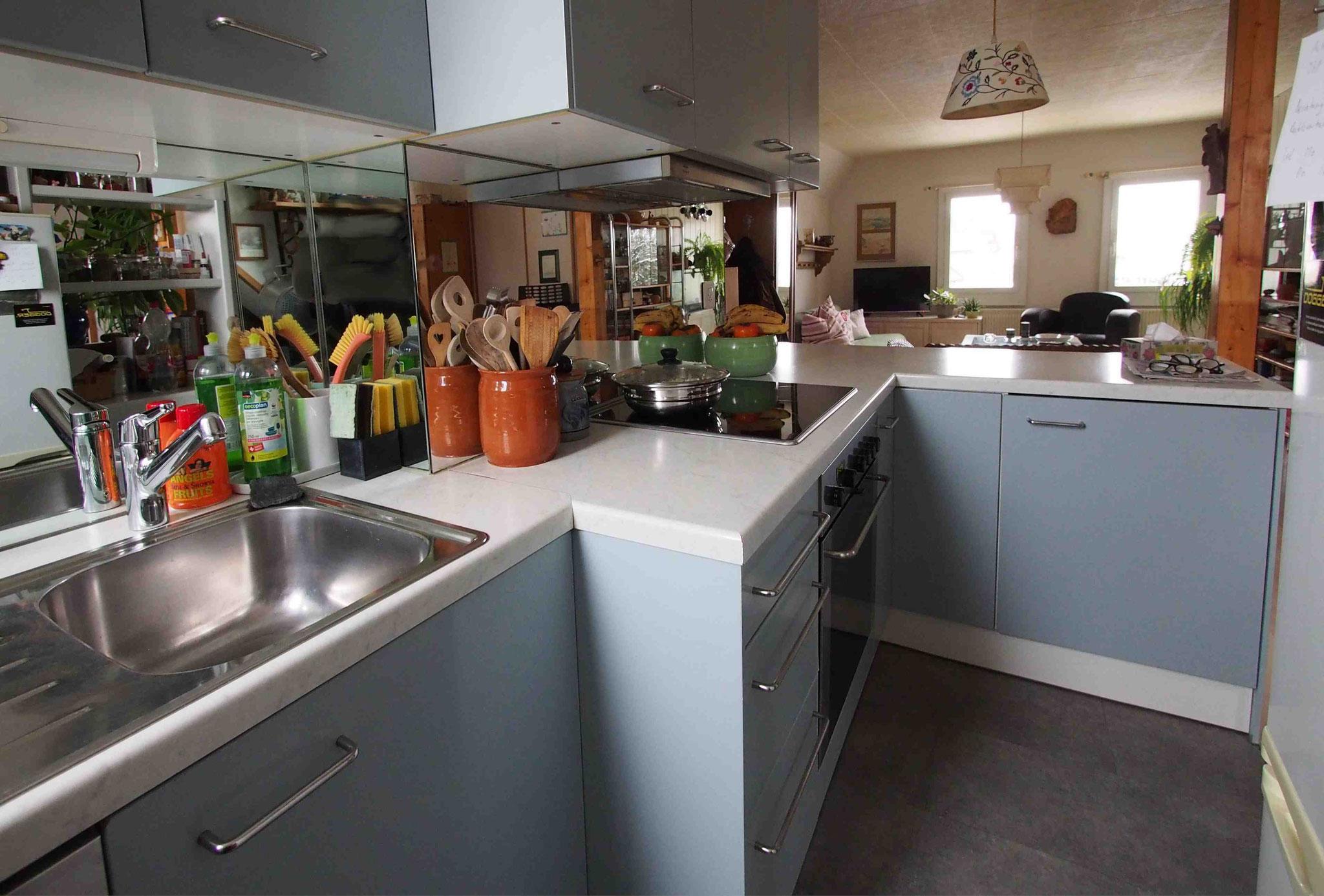 Dachwohnung Küche