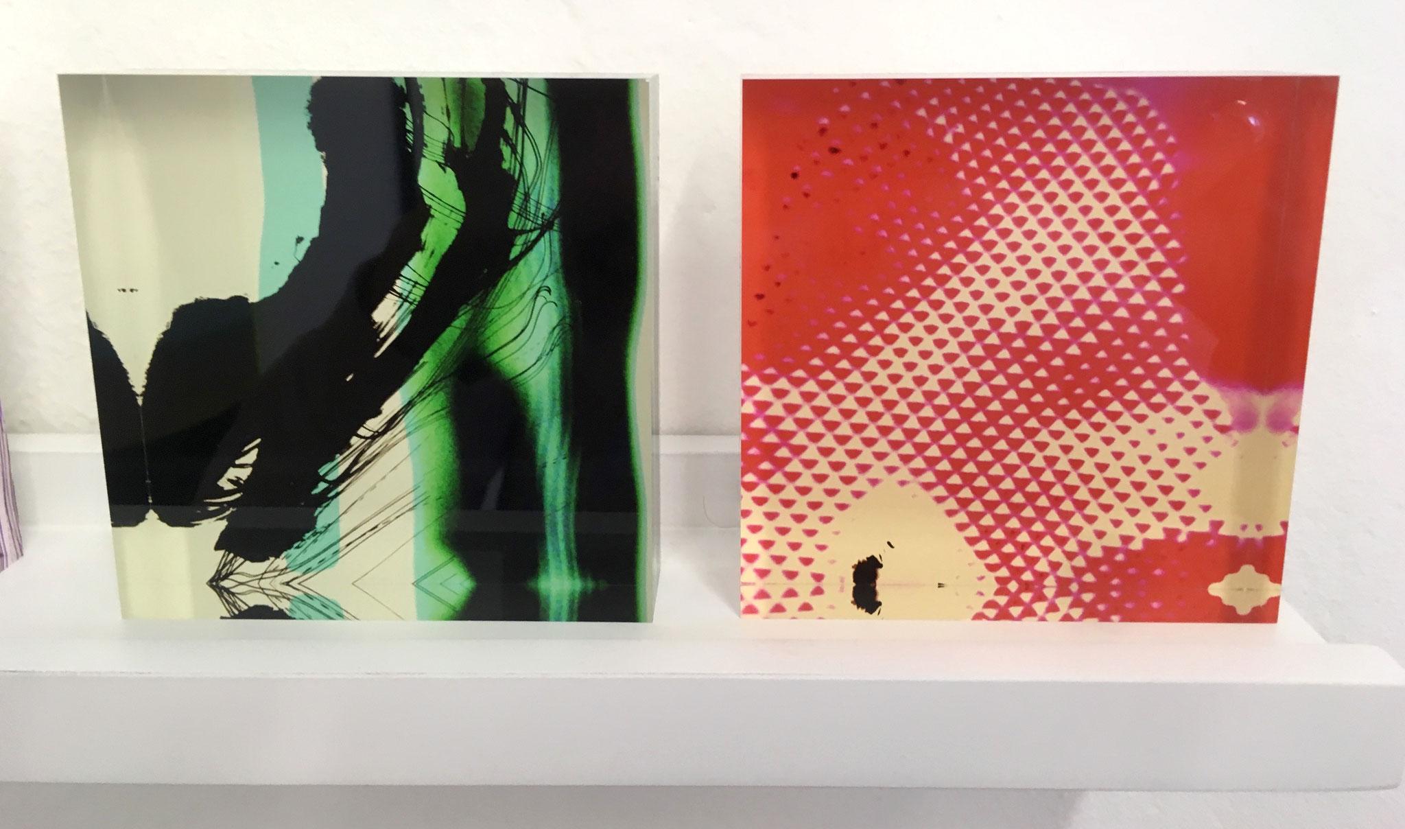 Acrylblöcke, 10x10 & 20x20cm