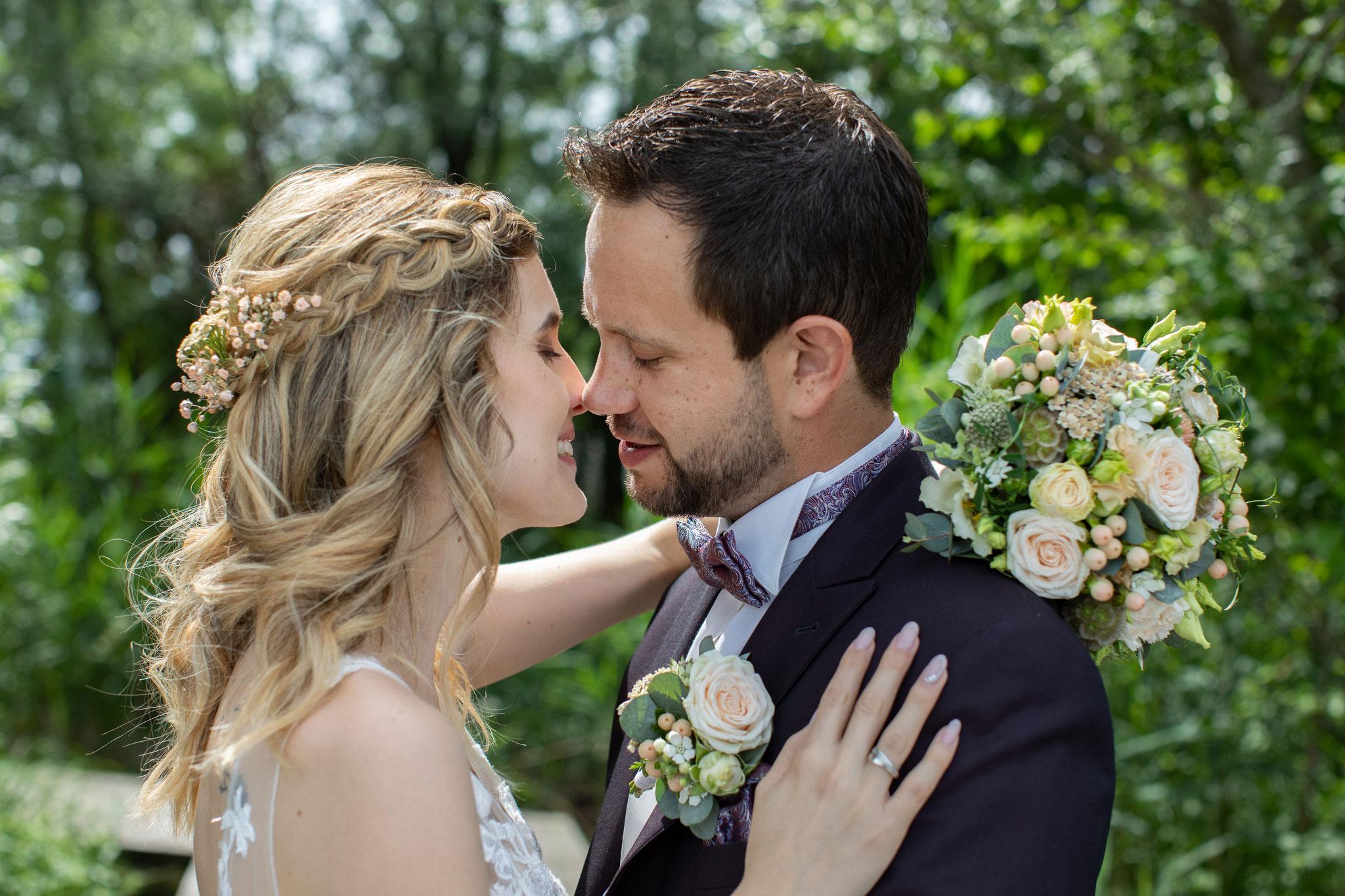Braut 2021 Carina Airbrush und modernes Hairstyling