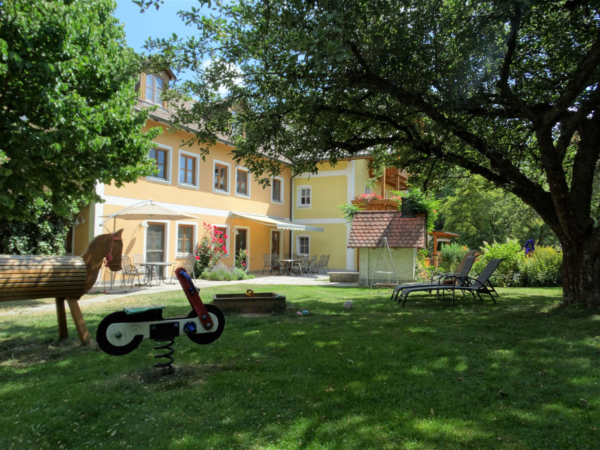Ferienhof Schwarz-Hof: Entspannen und wohlfühlen