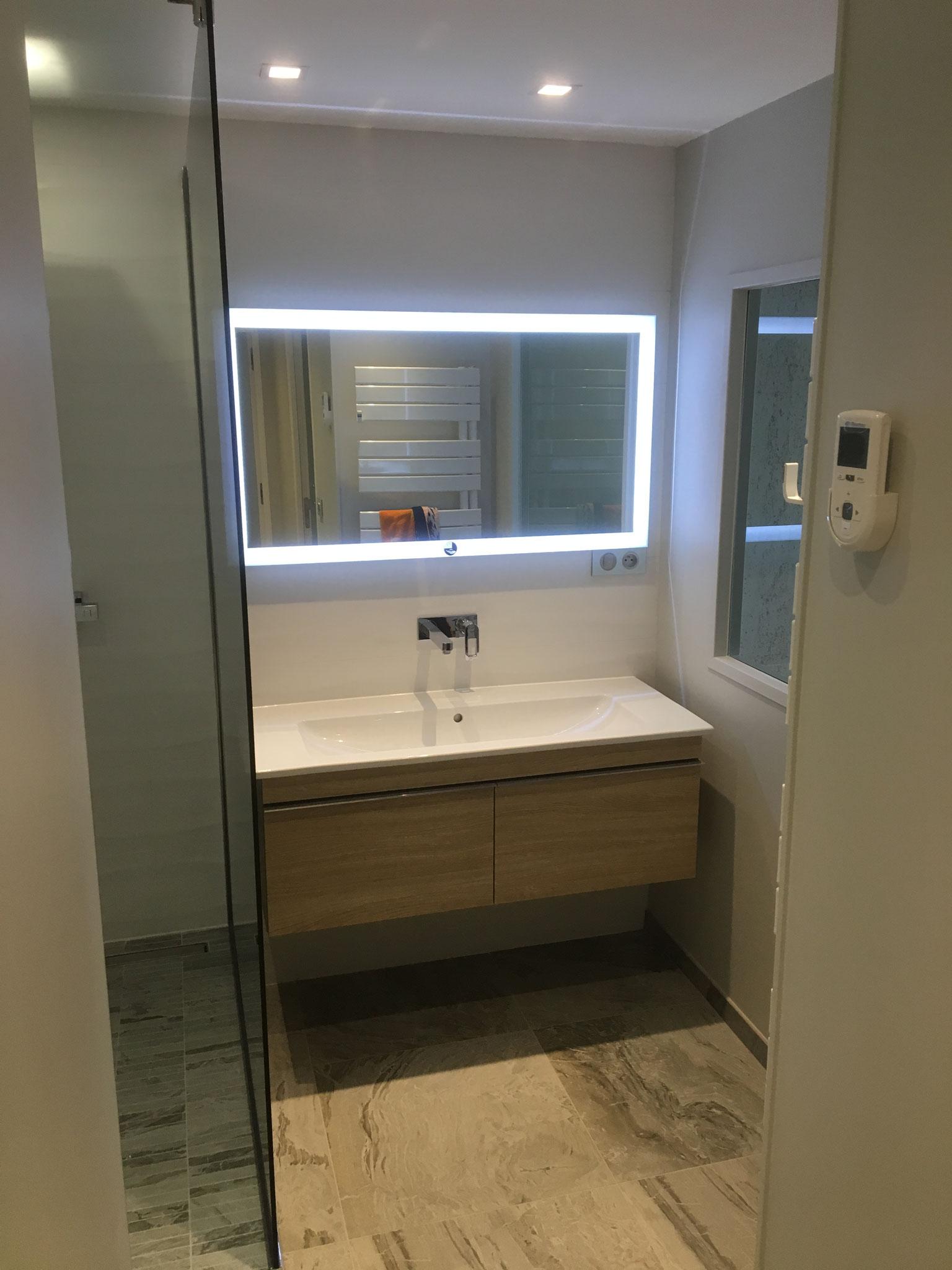Rénovation de A à Z de la salle de bains, cuisines cloet