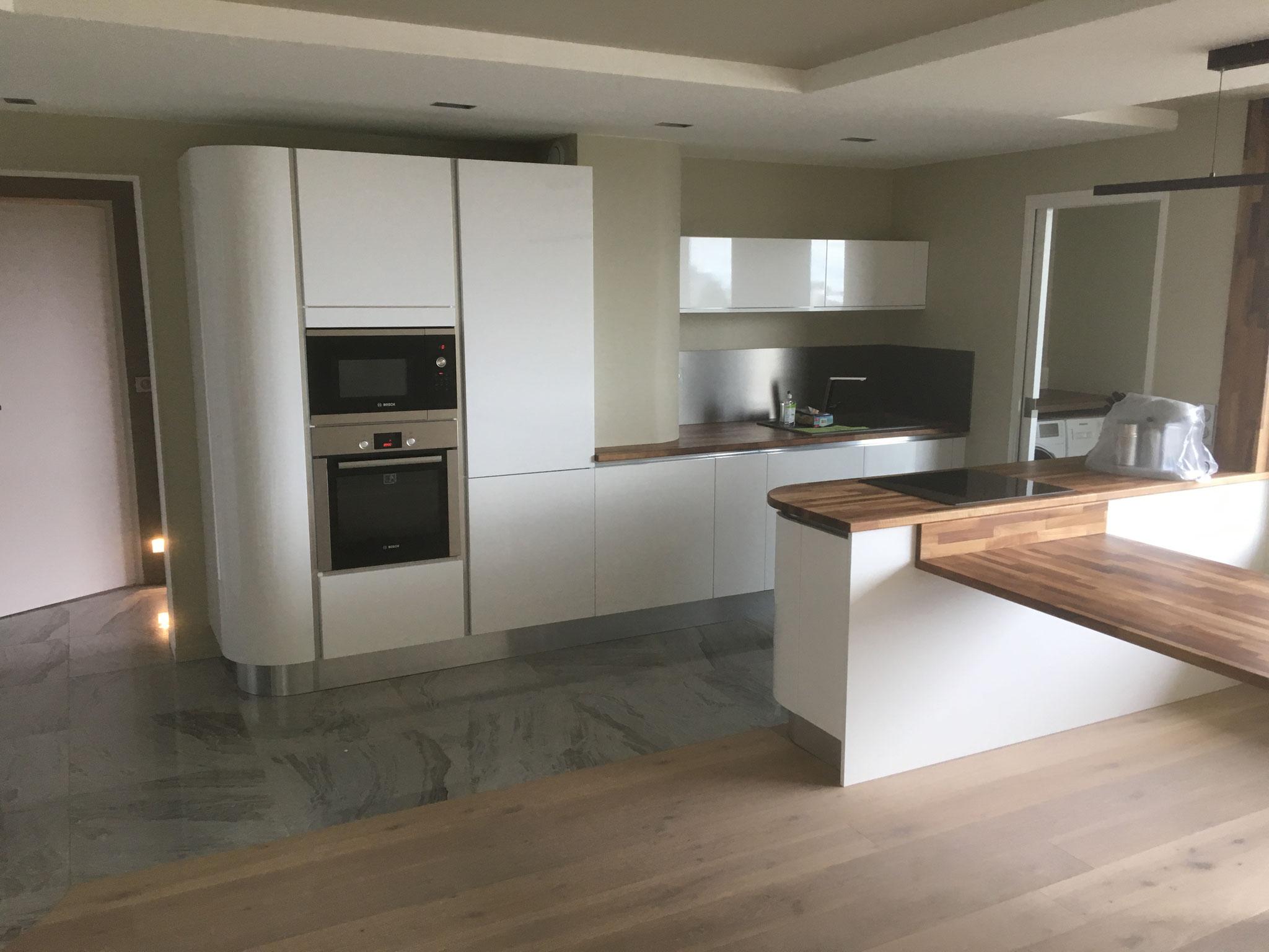 Rénovation  complète de la cuisine avec les travaux, cuisines cloet