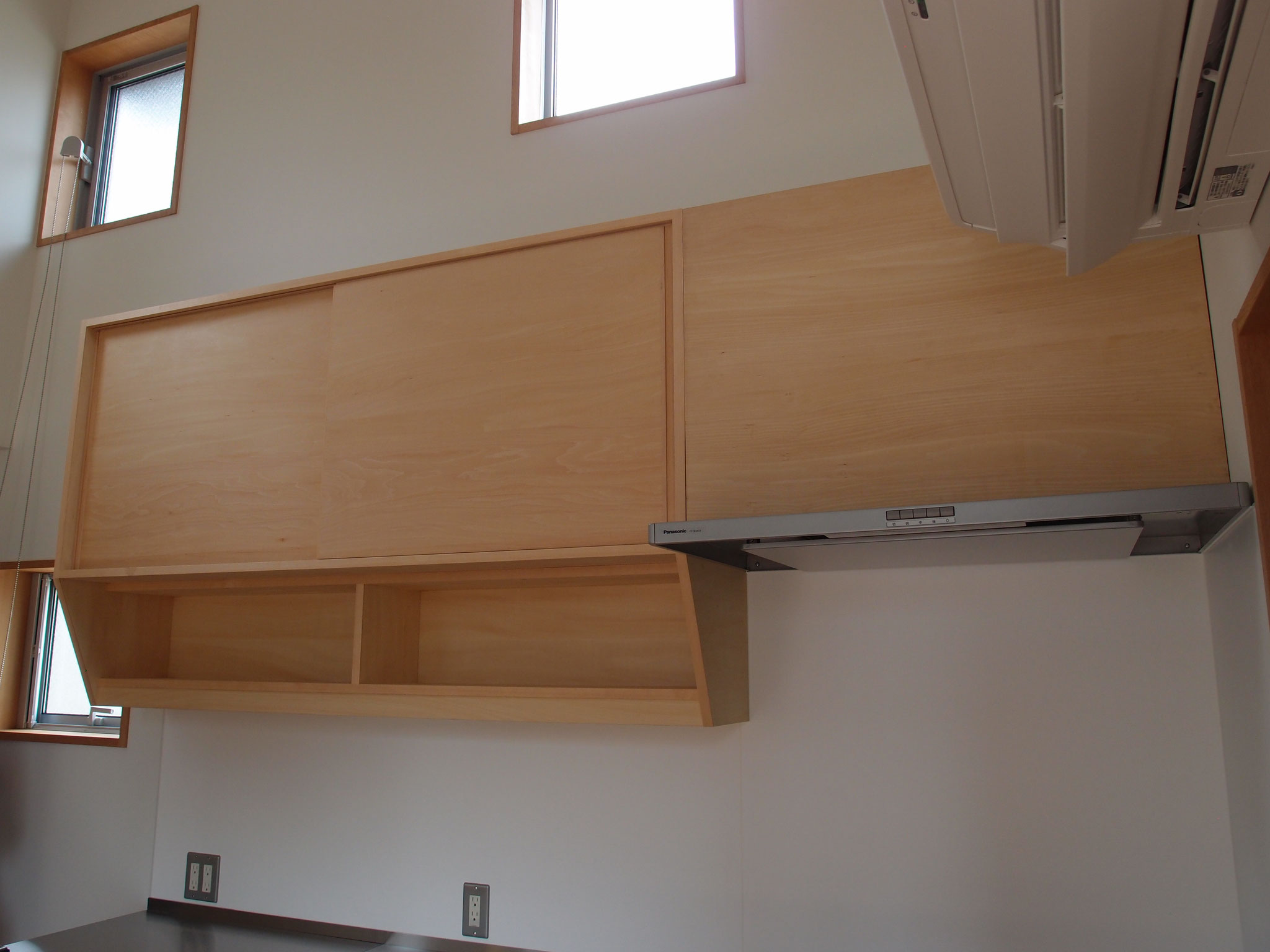 キッチン収納 吊棚