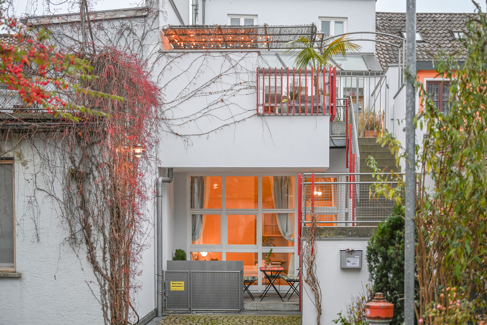Holiday apartments on Lake Constance: City Appartement 1 - Entrance