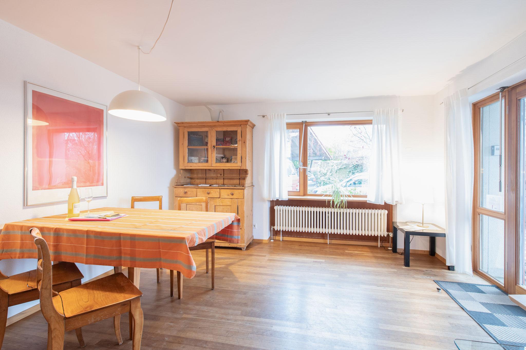 Ferienwohnung am Bodensee: Schillerstraße - Essbereich