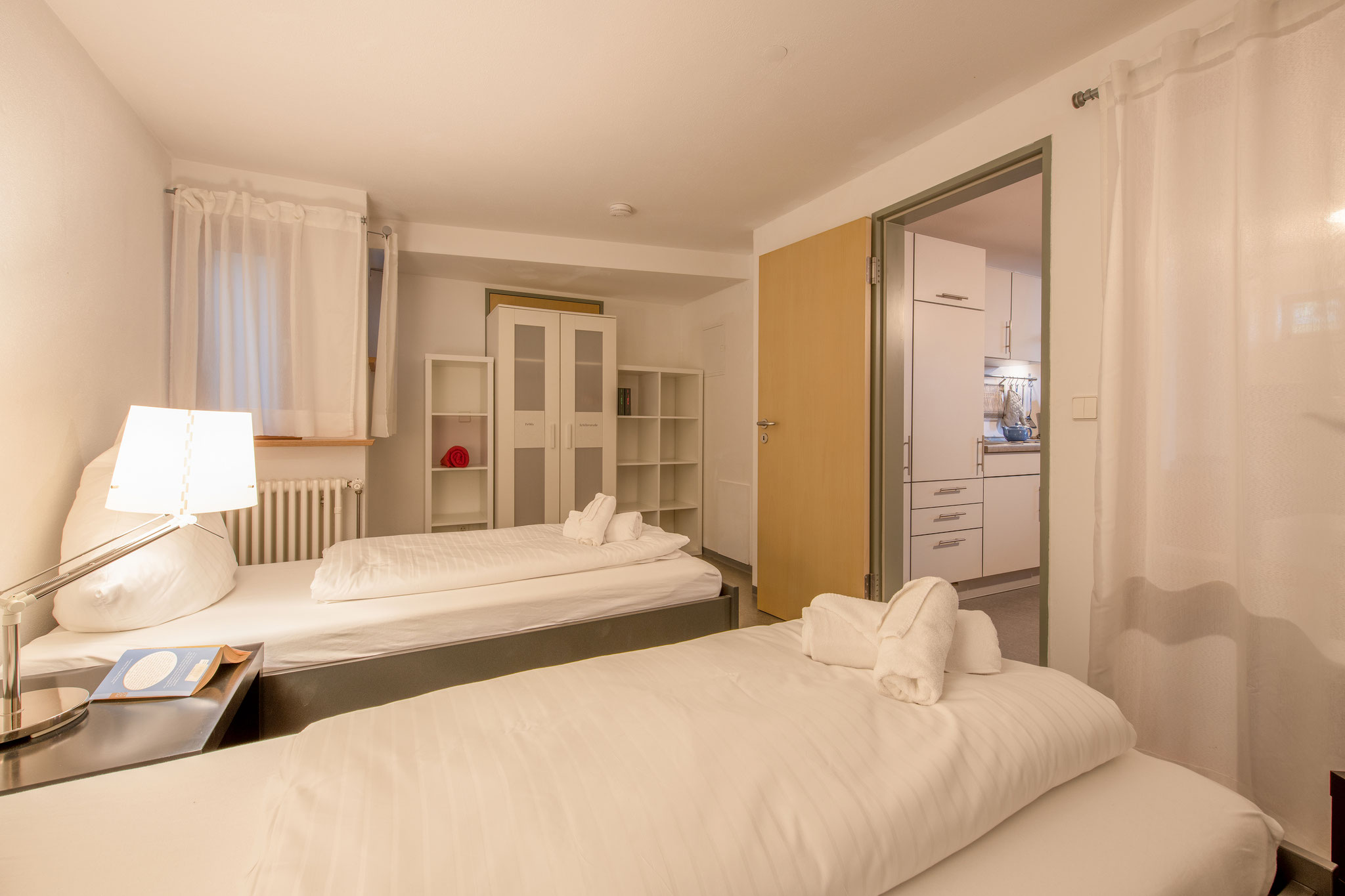 Ferienwohnung am Bodensee: Schillerstraße - Schlafzimmer