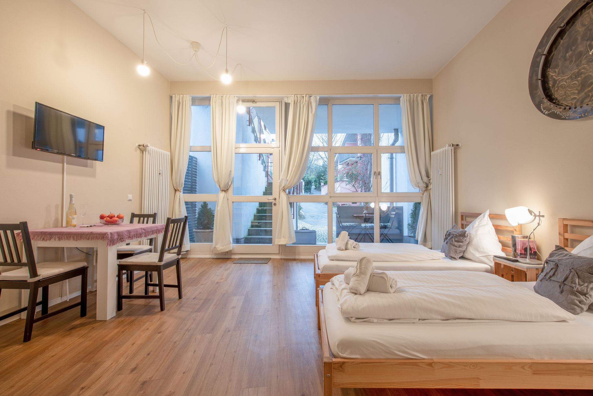 Holiday apartments on Lake Constance: City Appartement 1 - Living