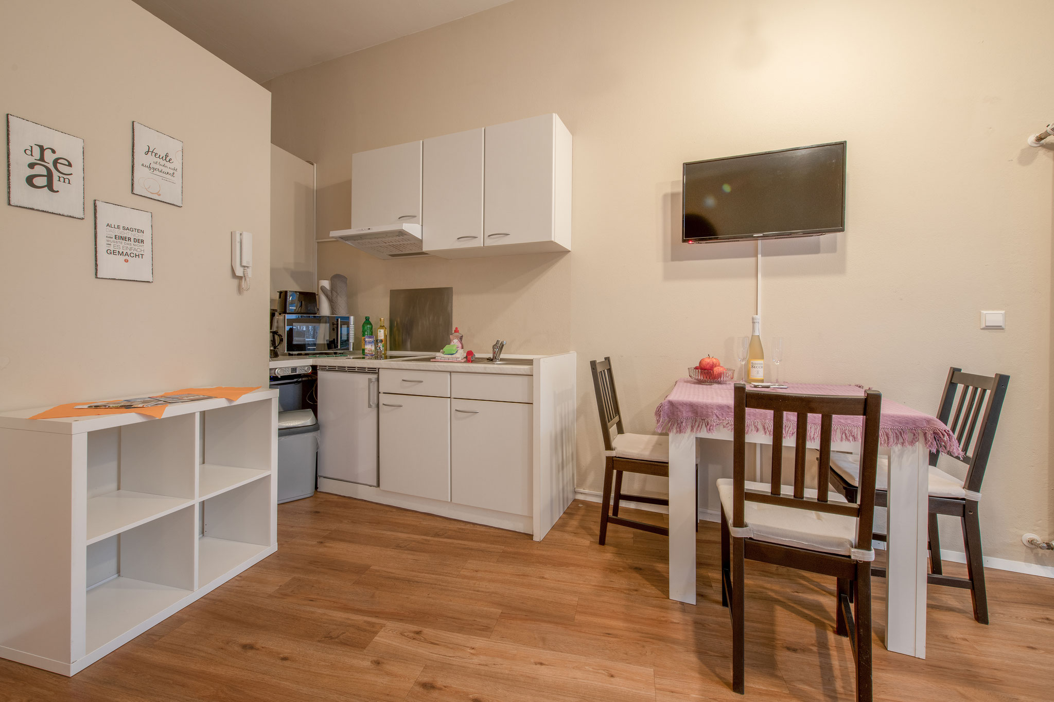Holiday apartments on Lake Constance: City Appartement 1 - Kitchen