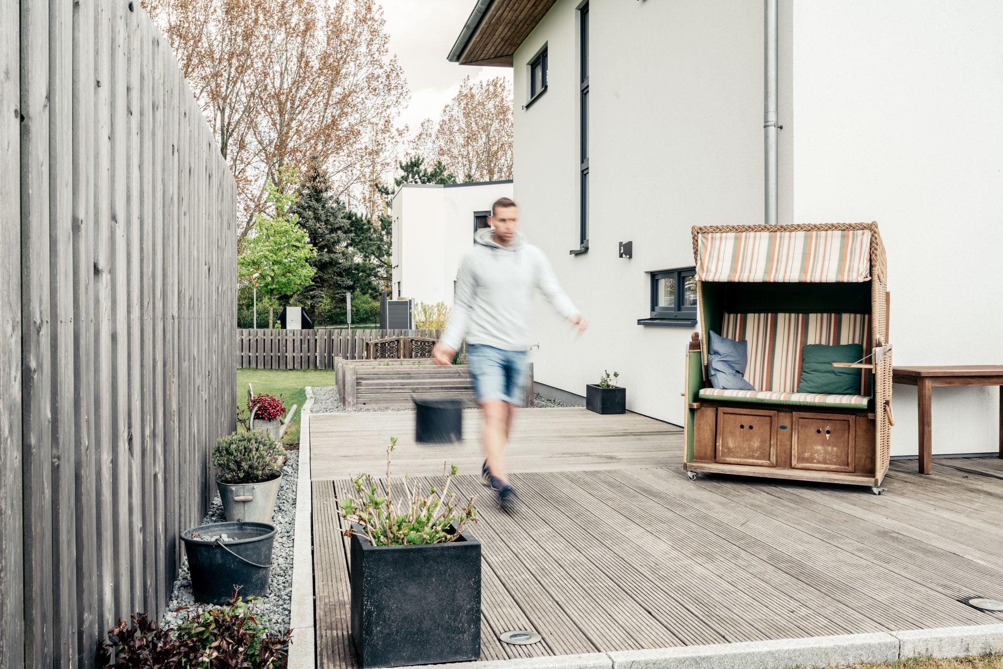 Terrasse und Zaun Elmenhorst