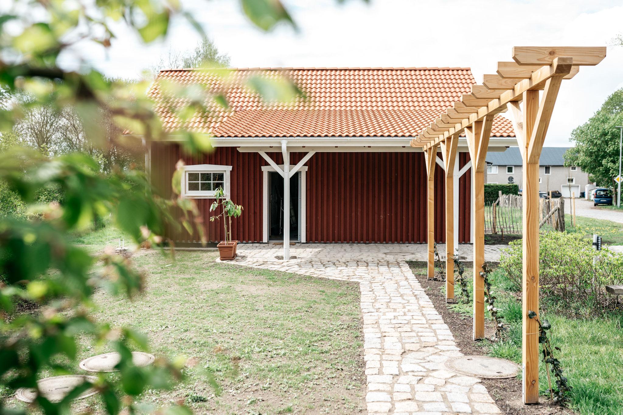 Schwedische Scheune