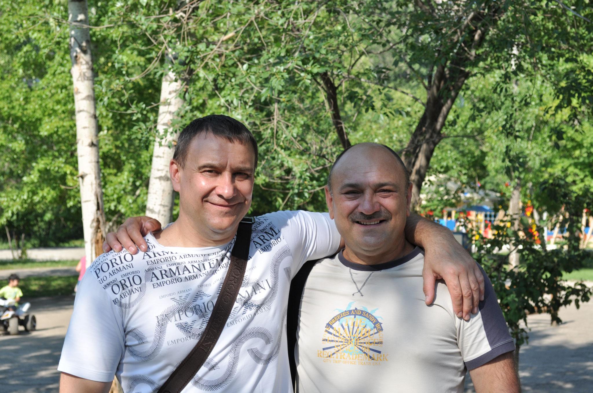 С братиком Володей