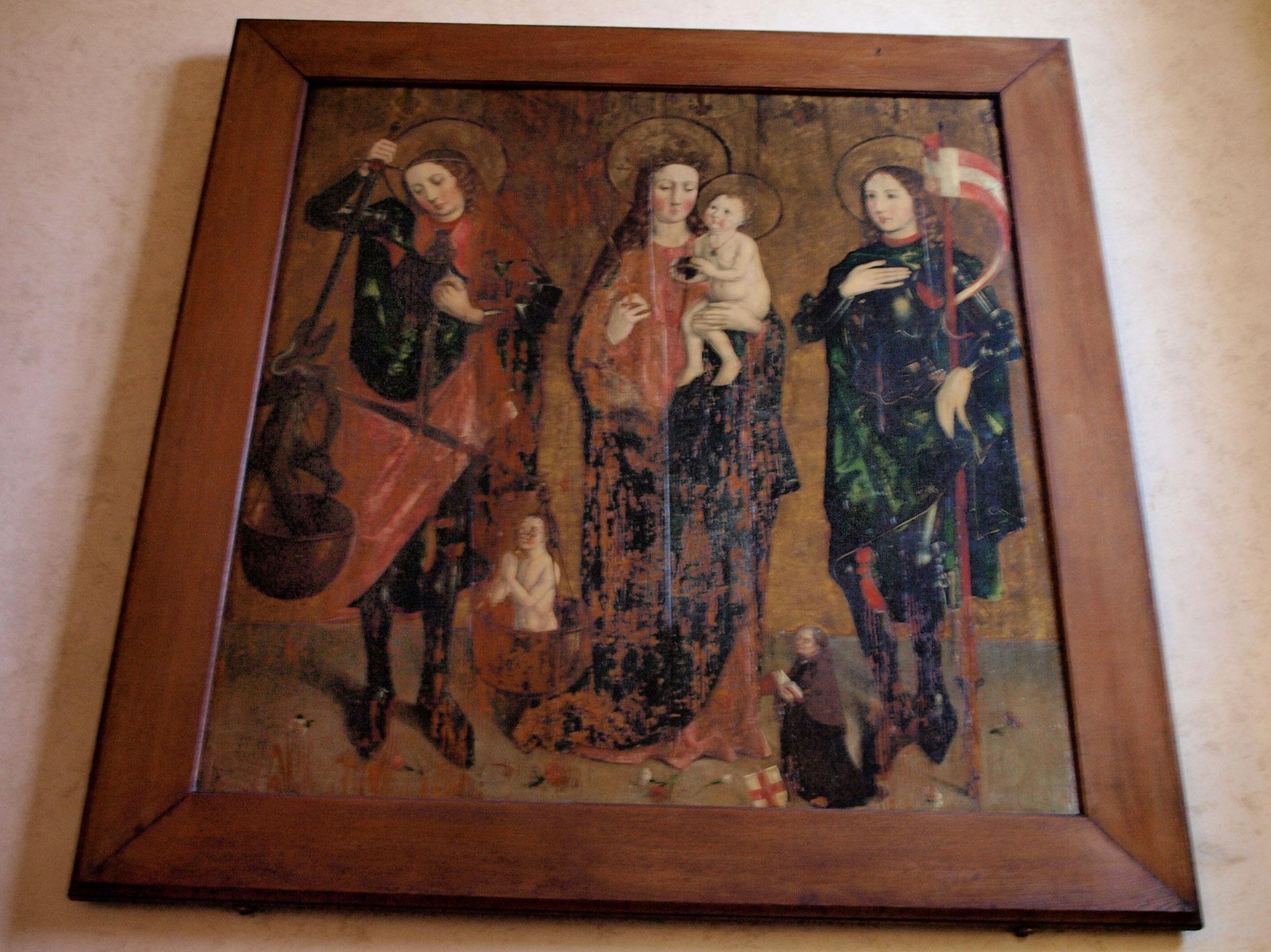 Vierge à l'nefant avec St Michel et St Gangolphe