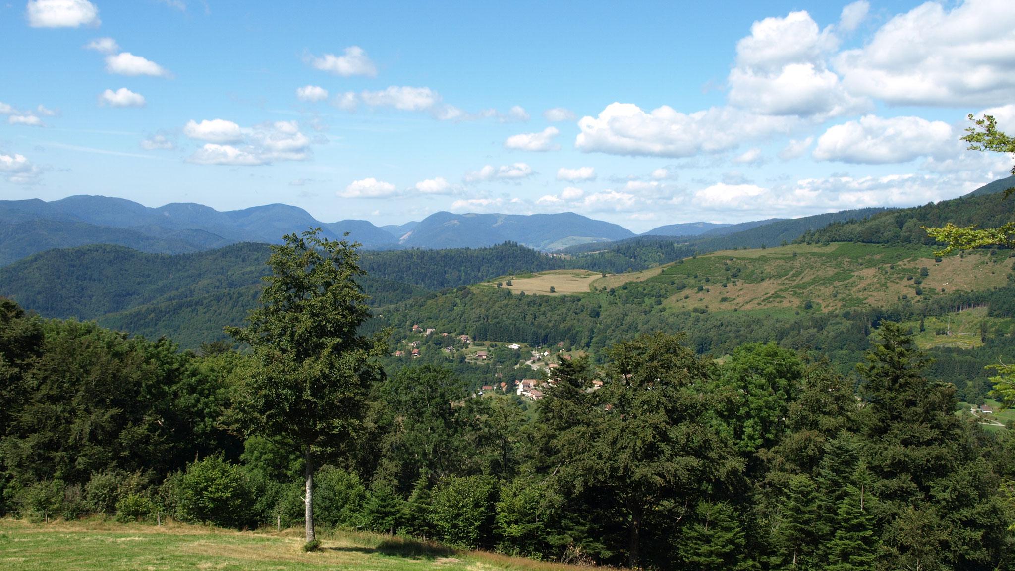 Goldbach et la vallée de thann