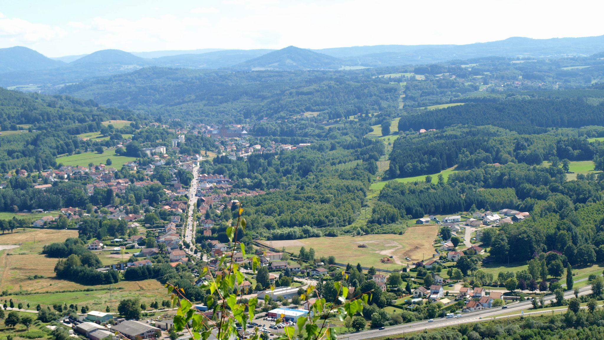 La vallée du Rabodeau