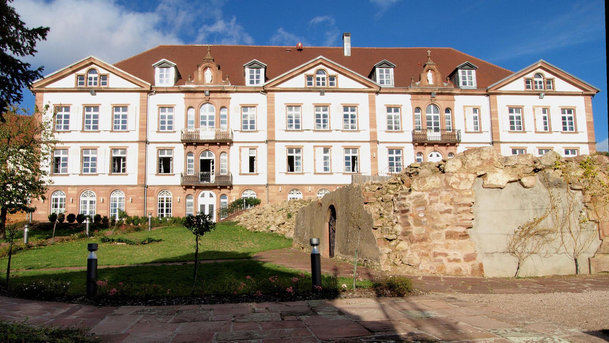 Hôtel Val Vignes (emplacement de la résidence des ducs de Lorraine)