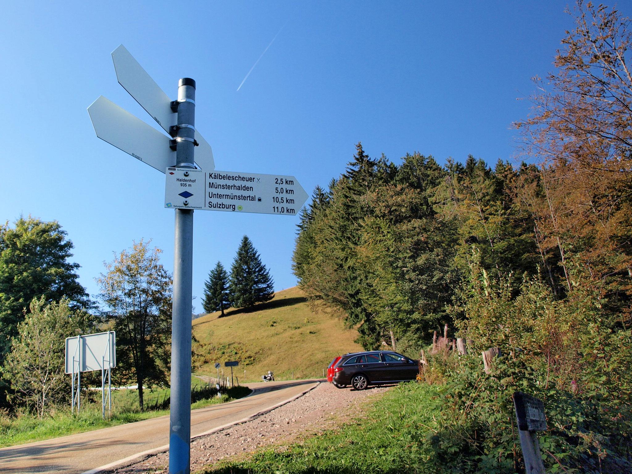Haldenhof parking