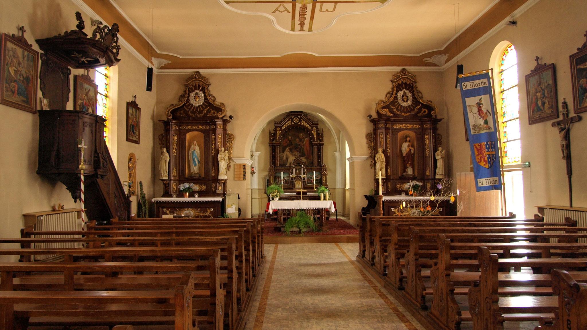Eglise paroissiale de Saint Martin
