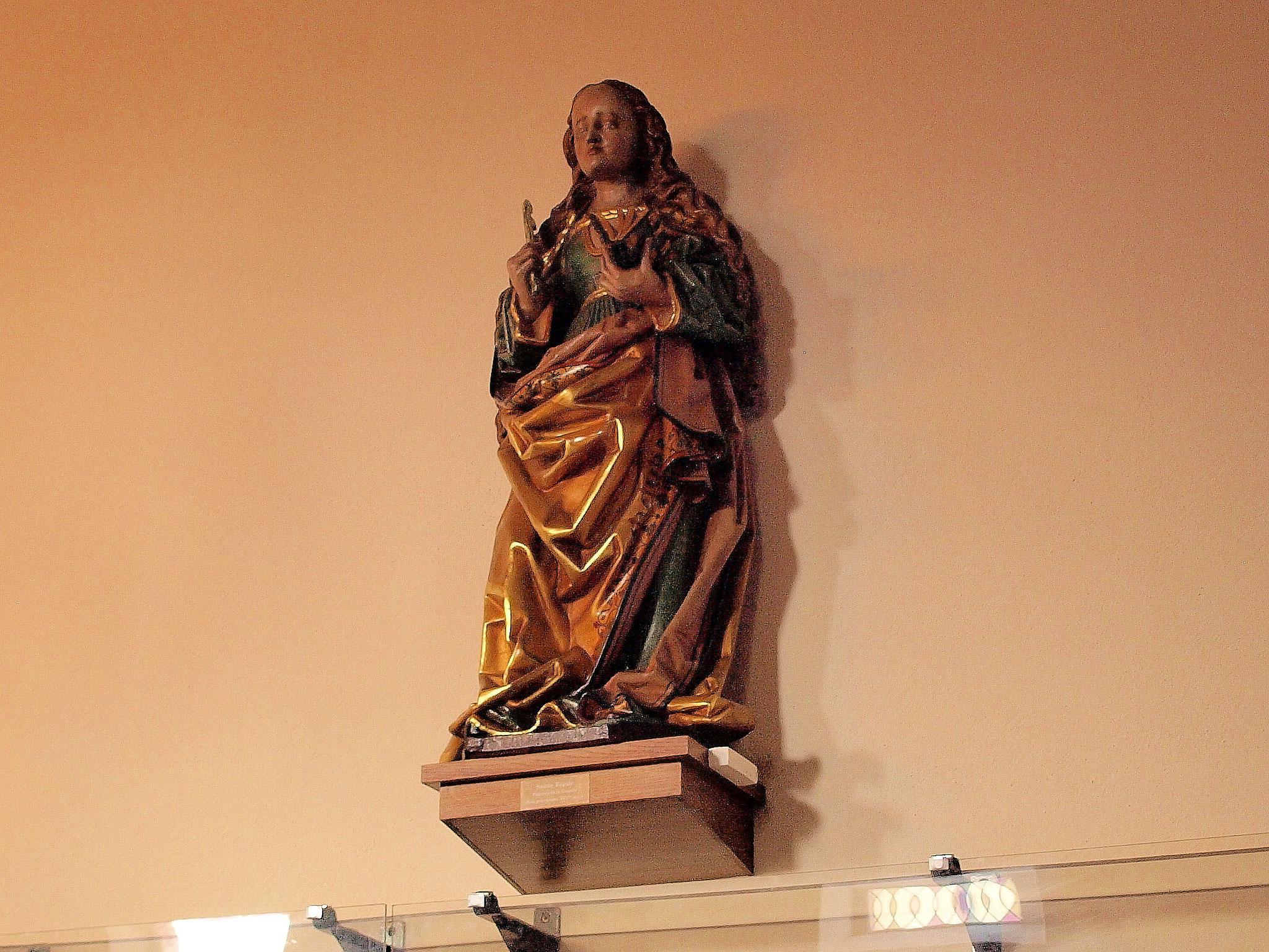 La statue de Ste Régule