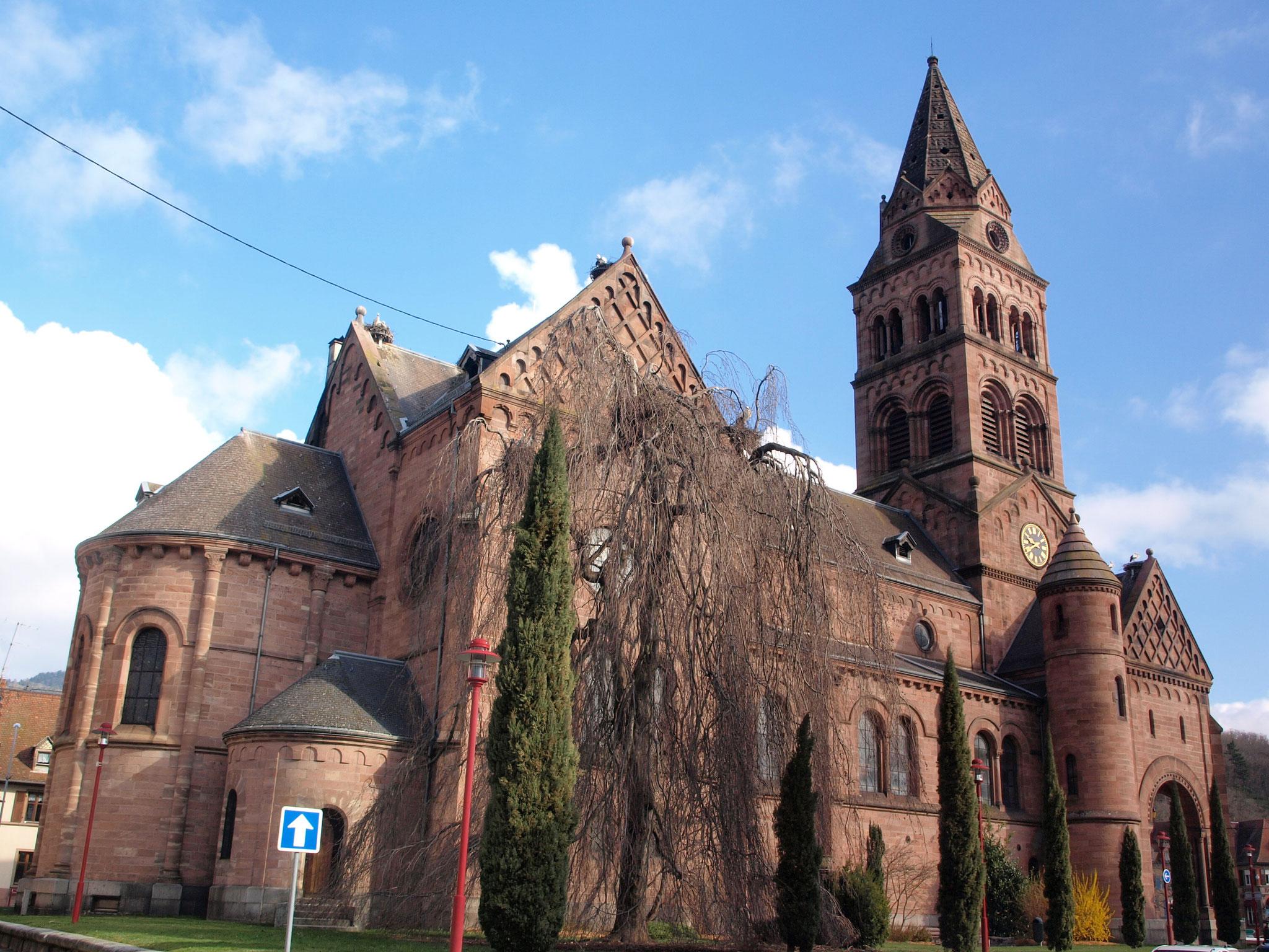 Munster : église protestante