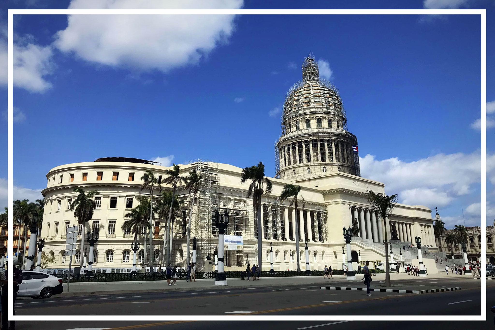 Das Kapitol von Havanna - seit 1928 Regierungssitz