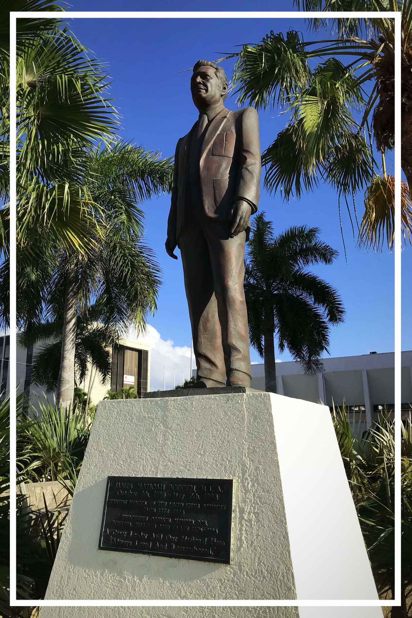 James Manoah Bodden Statue, Heroes Square, George Town