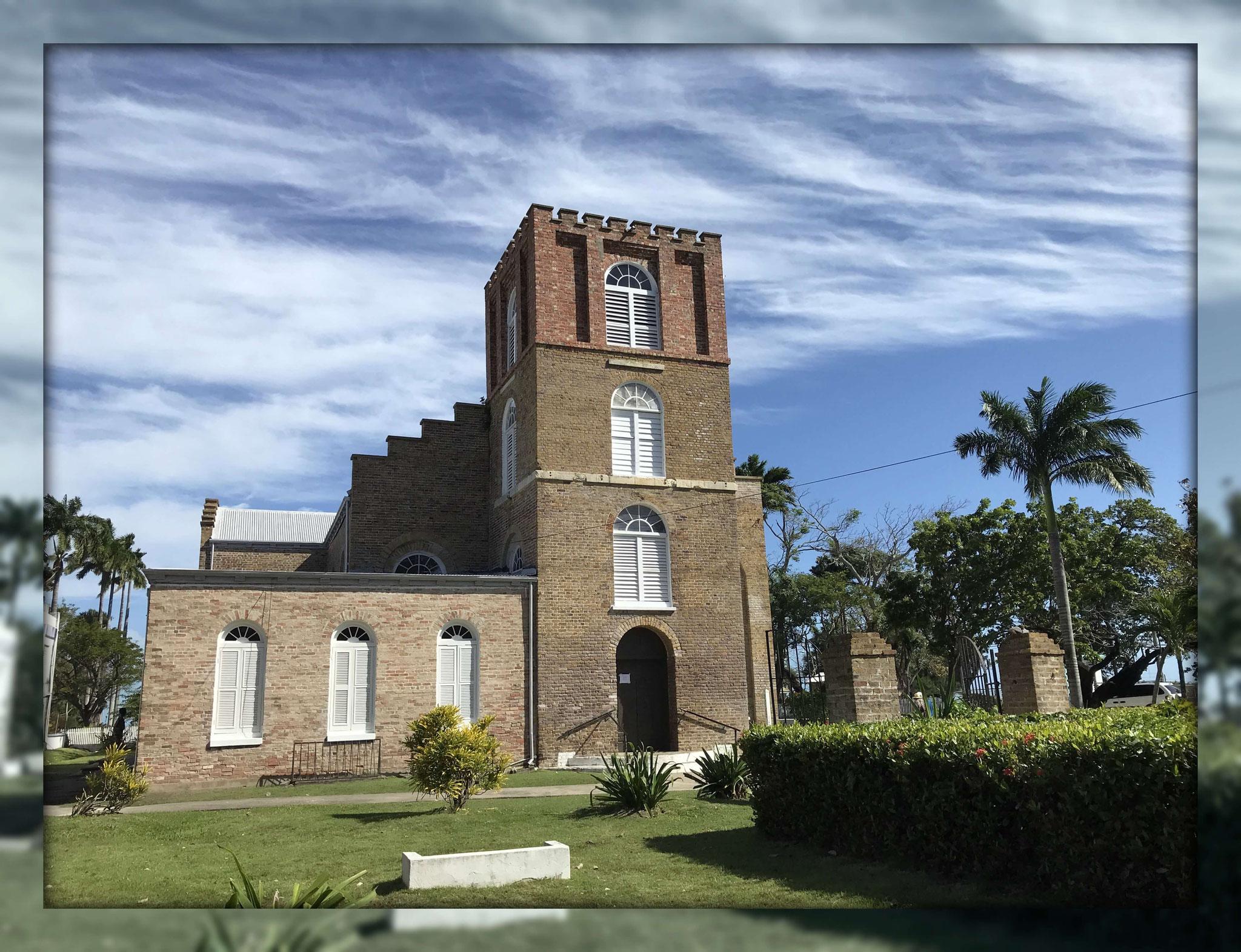 St. John's Cathedral - die älteste Kathedrale in Zentralamerika (1812)