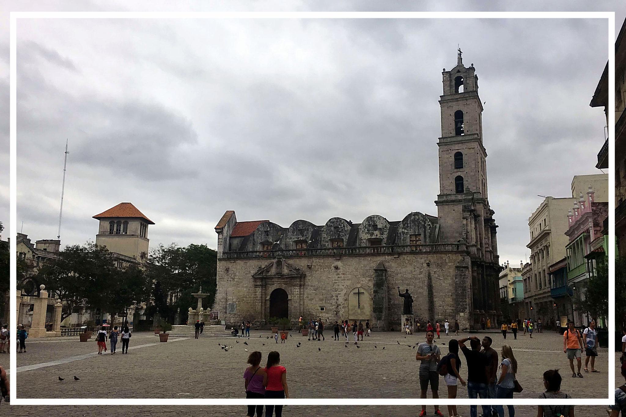 Iglesia de San Francisco de Asís - Kubas älteste Kirche im Statdteil Vieja