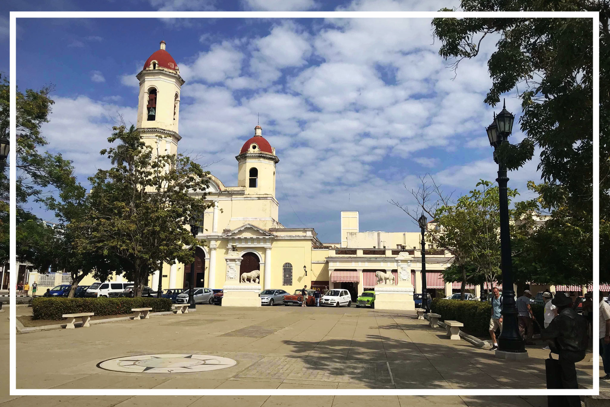 Parque Marti with Catedral de Nuestra Señora de la Purísima Concepción