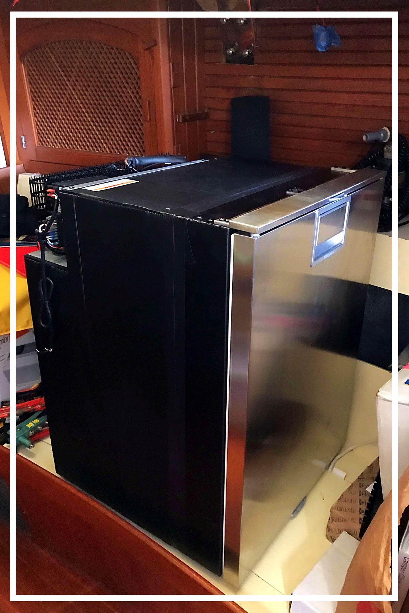 unser neuer Kühlschrank