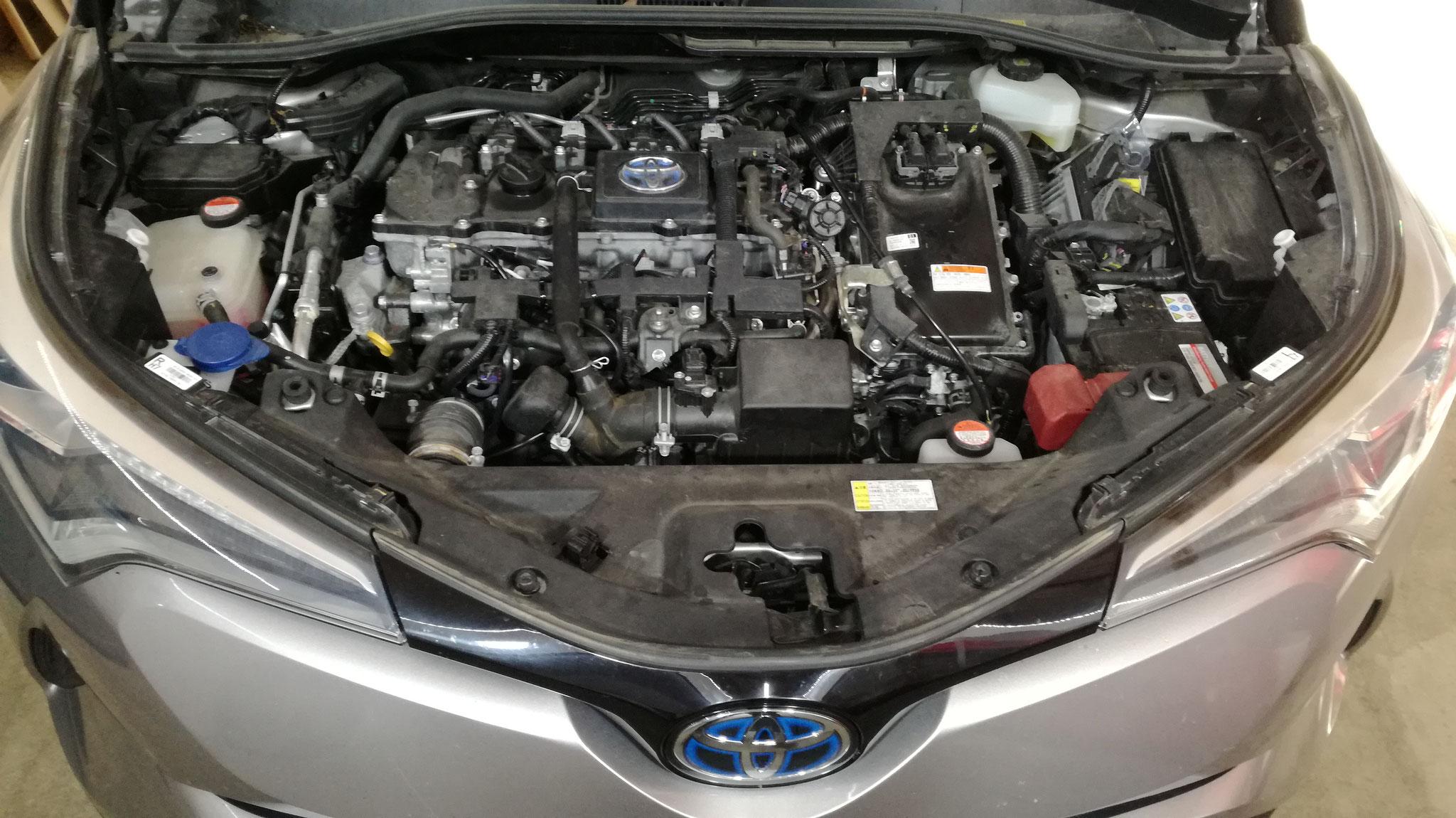 Toyota CHR Hybride - E85