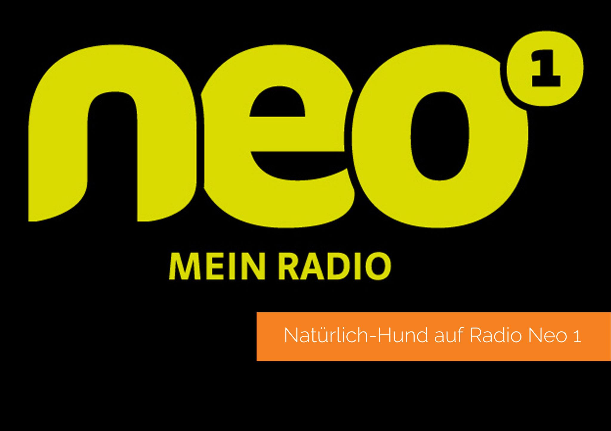 Natürlich-Hund auf Radio Neo 1